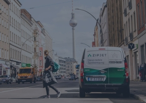 Zipjet driver in Berlin